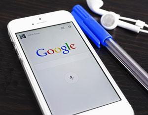 ایکون نمایش نسخه موبایل در گوگل