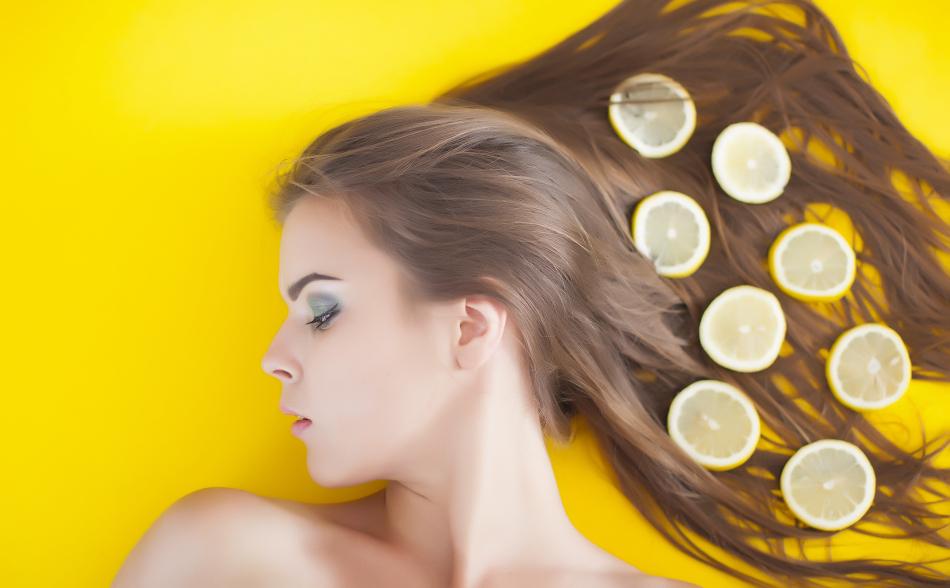 تاثیر لیمو بر زیبایی مو